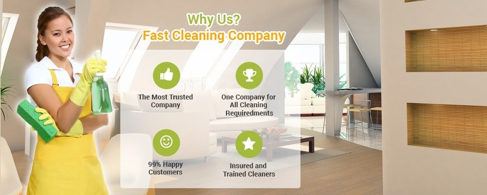 Why Us - Fast Cleaning Company